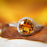 November Birthstone Jewelry: Autumnal Topaz and Lemony Citrine